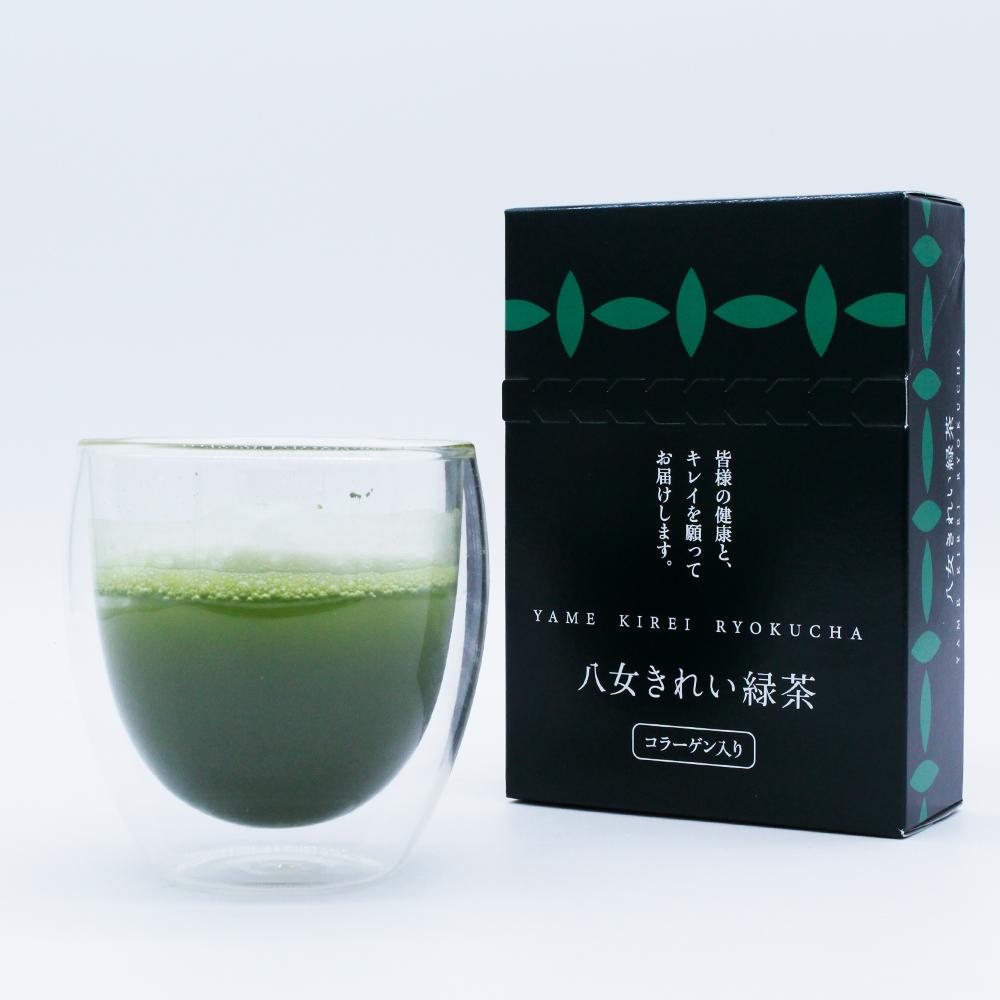 八女茶 抹茶 青汁 コラーゲン 入り 緑茶 青汁 大麦若葉 健康 毎日